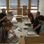 Bilder vom SQL Saturday 230 - Vorbereitung